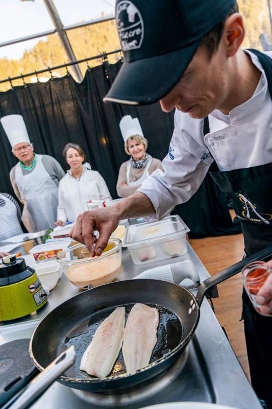 Atelier cuisine avec Loïc Grillet