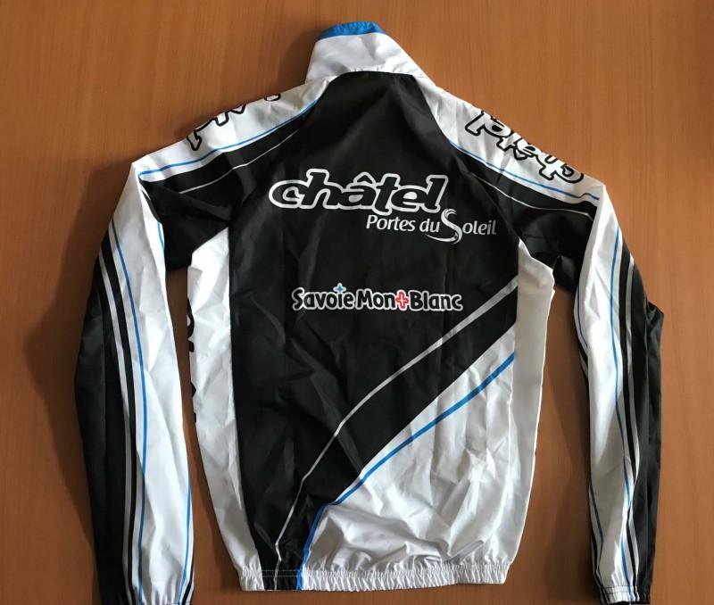 Tenue Vélo Châtel - Coupe Vent Bleu